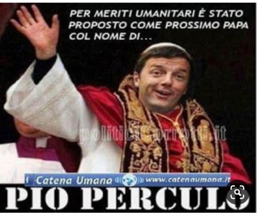 Matteo Renzi… Papa - Facciabuco.com